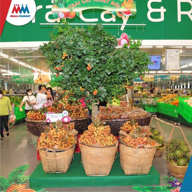 MM Mega Market đồng hành cùng Bắc Giang tiêu thụ hàng trăm tấn nông sản - Ảnh 1.