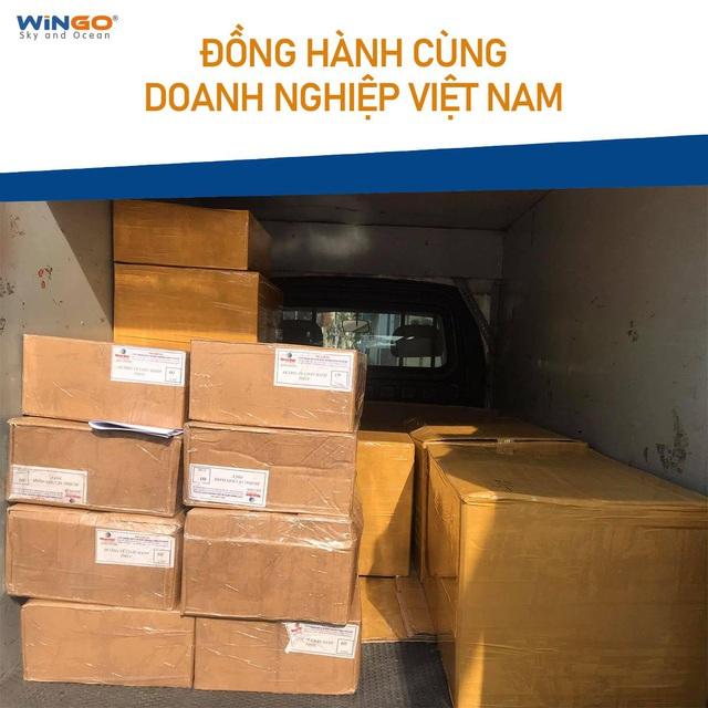 Gửi hàng đi quốc tế dễ dàng hơn với Wingo Logistics - Ảnh 3.