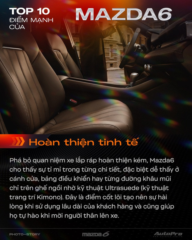 10 điểm giúp Mazda6 mới thuyết phục khách hàng Việt Nam - Ảnh 3.