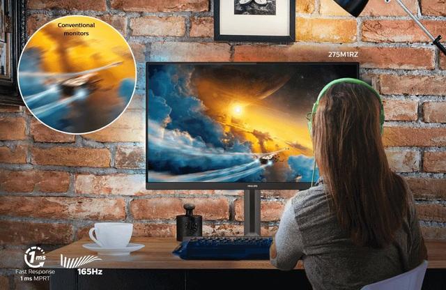 Philips ra mắt màn hình gaming 275M1RZ – Cấu hình khủng, chiến game cực đỉnh - Ảnh 3.
