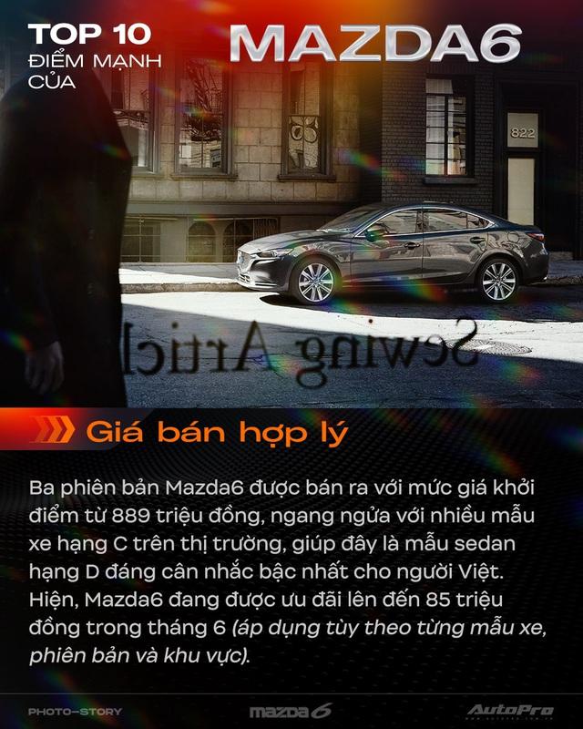 10 điểm giúp Mazda6 mới thuyết phục khách hàng Việt Nam - Ảnh 10.