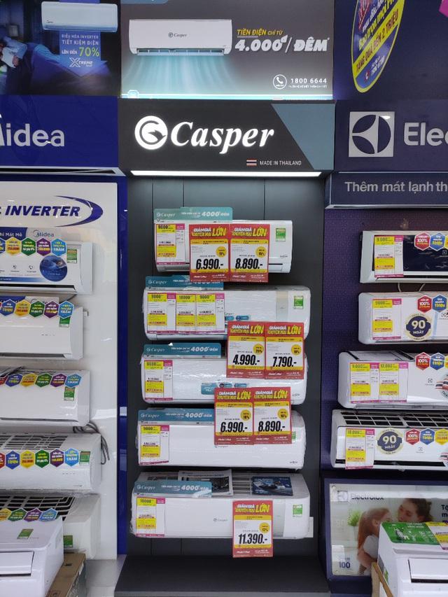 Vì sao thương hiệu Casper thống lĩnh top 3 thị phần thị trường điều hòa? - Ảnh 1.