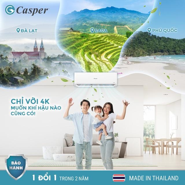 Vì sao thương hiệu Casper thống lĩnh top 3 thị phần thị trường điều hòa? - Ảnh 2.