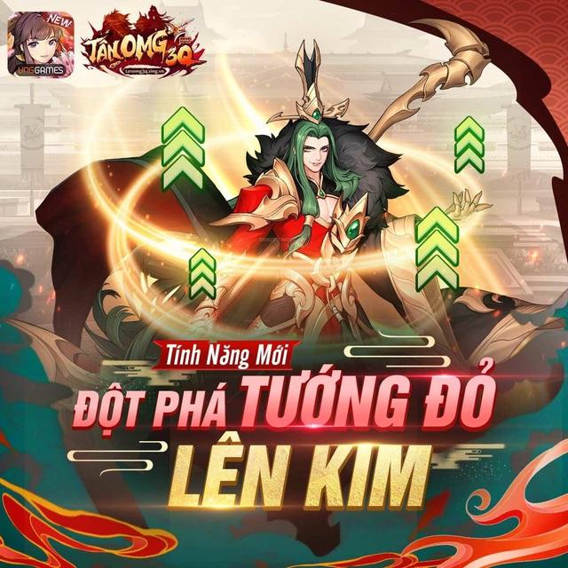 """Tân OMG3Q VNG tiếp tục ra mắt phiên bản mới Kỷ Nguyên Kim Tướng, làm """"nổ tung"""" cộng đồng game thủ với những tính năng đầy hứa hẹn - Ảnh 3."""