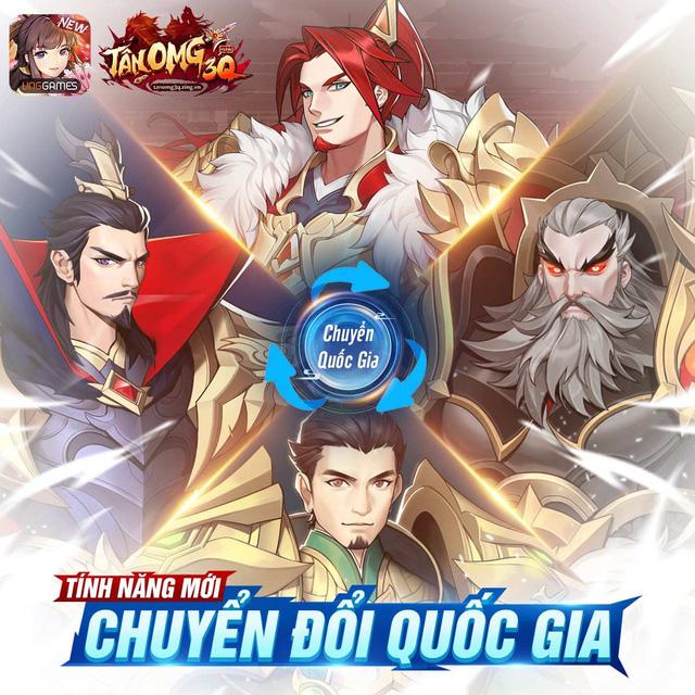 """Tân OMG3Q VNG tiếp tục ra mắt phiên bản mới Kỷ Nguyên Kim Tướng, làm """"nổ tung"""" cộng đồng game thủ với những tính năng đầy hứa hẹn - Ảnh 5."""