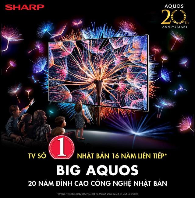 SHARP 20 năm hành trình thương hiệu TV số 1 Nhật Bản - Ảnh 1.