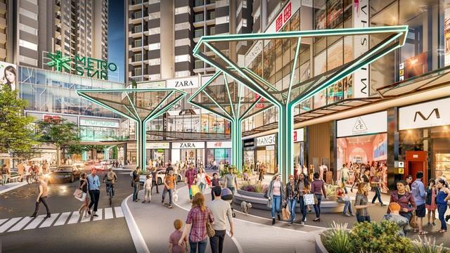 Shophouse Metro Star về đích cùng tuyến Metro số 1 - Ảnh 1.