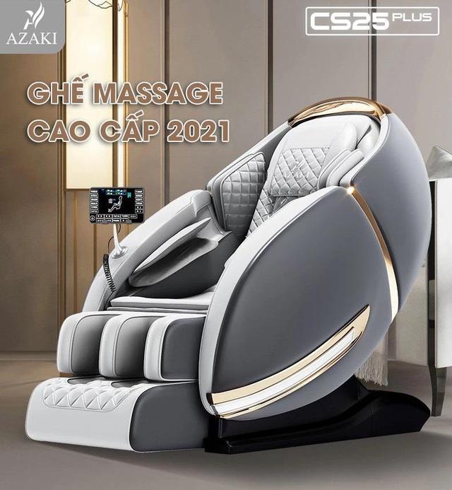 Giải mã sức hút của ghế massage Azaki - Ảnh 2.