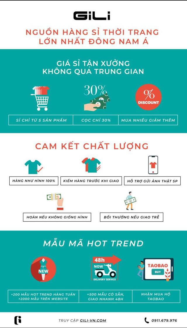 GiLi - Nền tảng bán sỉ thời trang chinh phục nhà bán lẻ Việt - Ảnh 2.