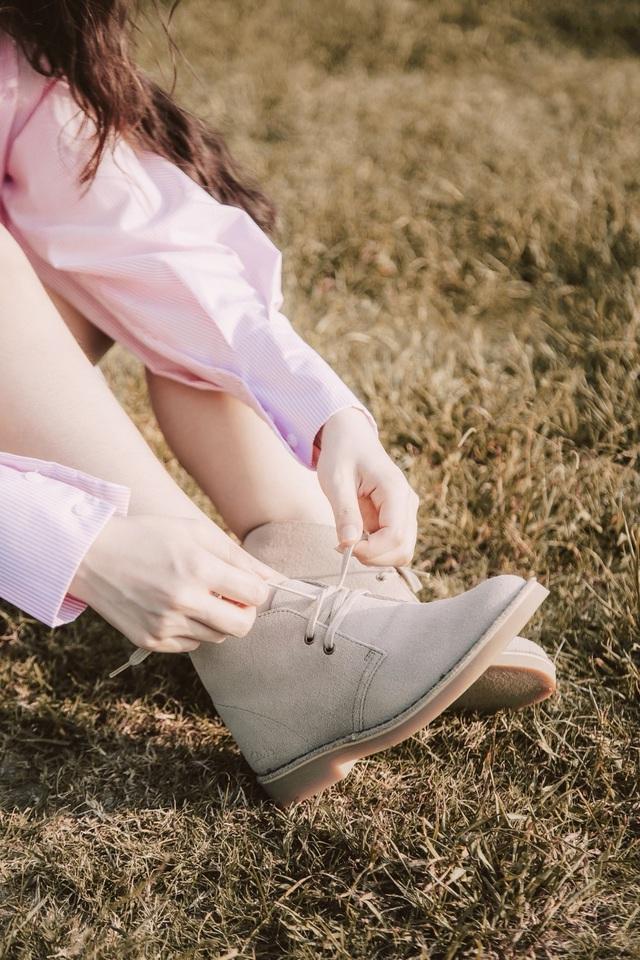 Anh Tú, Khánh Vy đồng hành cùng Desert Boot - đôi giày không tuổi của thương hiệu Clarks - ảnh 4