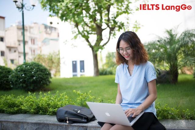 IELTS LangGo: Làm thế nào để học trực tuyến nhưng vẫn tối ưu hiệu quả? - Ảnh 1.