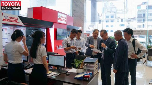 Toyota Thanh Xuân: Thương hiệu uy tín, dịch vụ xứng tầm - Ảnh 2.