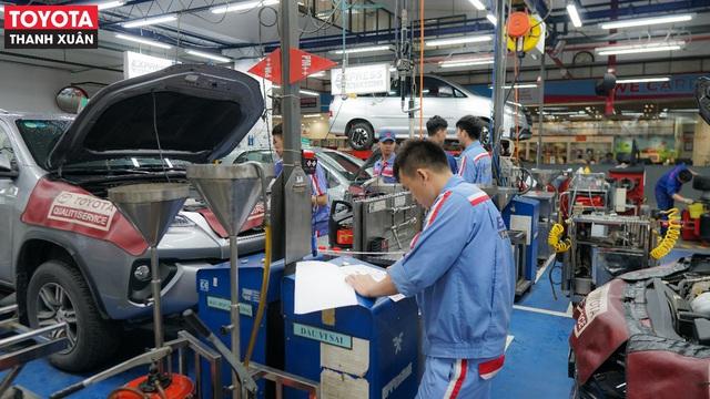 Toyota Thanh Xuân: Thương hiệu uy tín, dịch vụ xứng tầm - Ảnh 3.