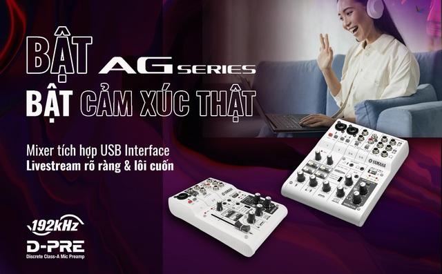 Lựa chọn mới cho người yêu công nghệ & âm nhạc – thiết bị tích hợp USB Interface từ Yamaha - Ảnh 1.