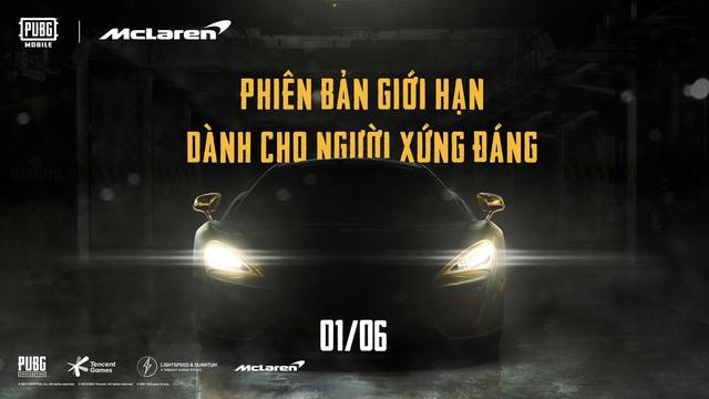 Hợp tác hãng xe McLaren, PUBG Mobile tung event hấp dẫn, siêu tốc bậc nhất làng game tháng 6 - Ảnh 1.