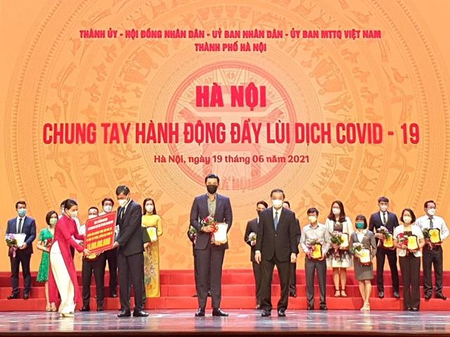 Tân Hoàng Minh ủng hộ 20 tỷ, cùng Hà Nội đẩy lùi Covid – 19 - Ảnh 1.
