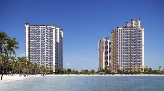 Khu căn hộ cao cấp Masteri Waterfront tại trung tâm đại đô thị Ocean Park