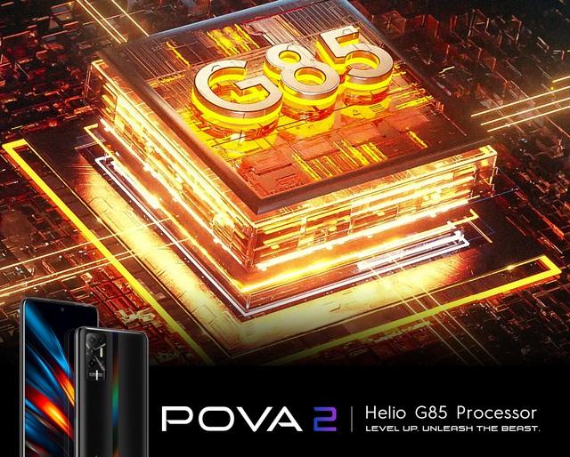 Có gì đặc biệt ở siêu phẩm TECNO POVA 2, smartphone có dung lượng pin khủng 7.000 mAh - Ảnh 3.