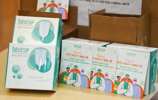 """Sự kiện ủng hộ """"đặc biệt"""" nhất mùa dịch: BeUcup gửi tặng cốc nguyệt san tới các nữ y bác sĩ - Ảnh 3."""