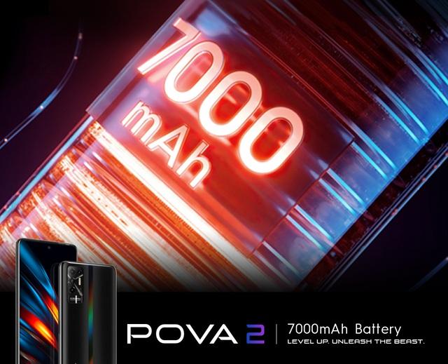 Có gì đặc biệt ở siêu phẩm TECNO POVA 2, smartphone có dung lượng pin khủng 7.000 mAh - Ảnh 4.