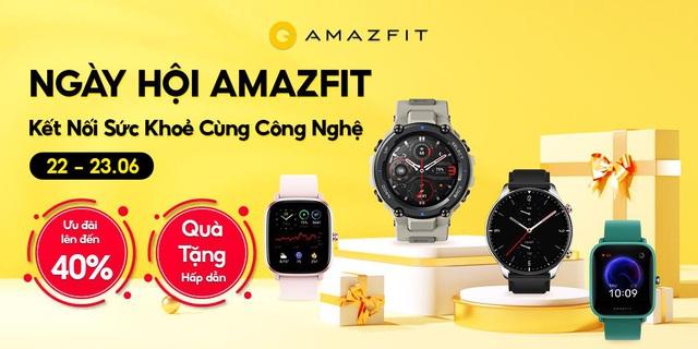 """Khám phá Amazfit: Đồng hồ thông minh mang sứ mệnh """"Nâng cao sức khỏe cùng công nghệ"""" - Ảnh 5."""