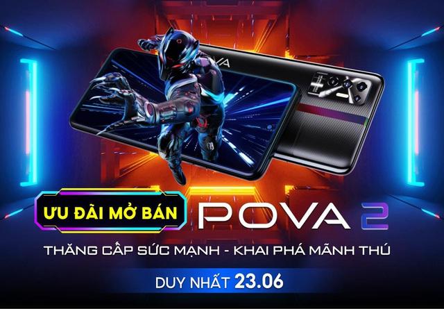 Có gì đặc biệt ở siêu phẩm TECNO POVA 2, smartphone có dung lượng pin khủng 7.000 mAh - Ảnh 5.