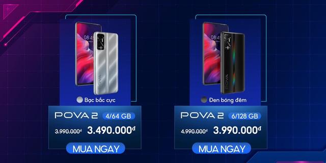 Có gì đặc biệt ở siêu phẩm TECNO POVA 2, smartphone có dung lượng pin khủng 7.000 mAh - Ảnh 6.