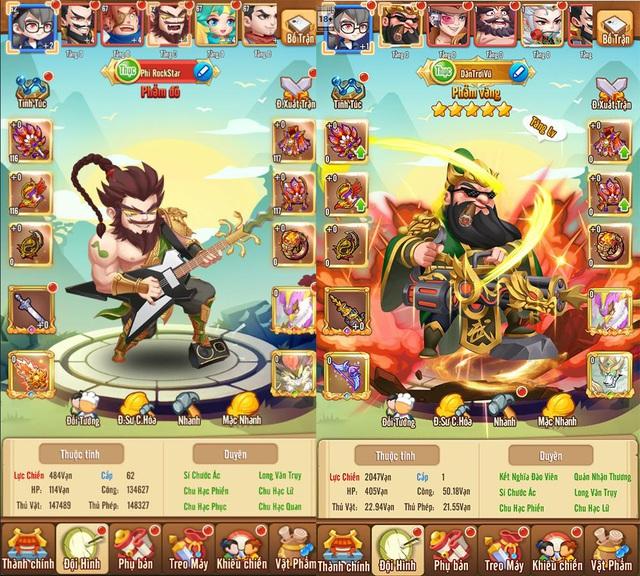 Game thẻ tướng tấu hài cực mạnh - Dân Chơi Tam Quốc chính thức ra mắt hôm nay - Ảnh 2.