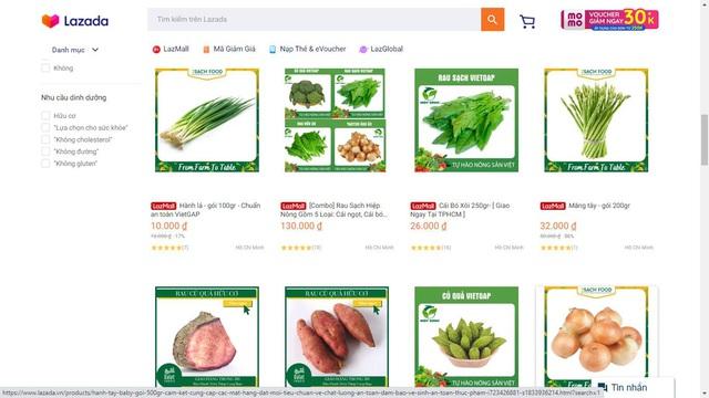 Bùng nổ mua sắm thực phẩm online thời Covid - Ảnh 1.