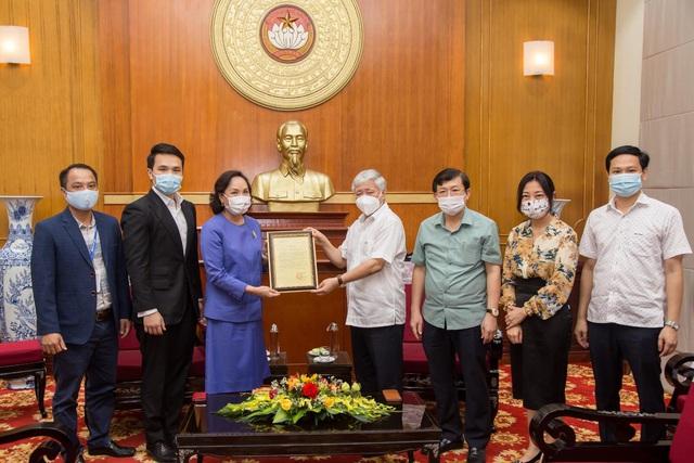 Tập đoàn TCC đóng góp 1 triệu USD mua vắc xin phòng chống Covid-19 tại Việt Nam - Ảnh 2.