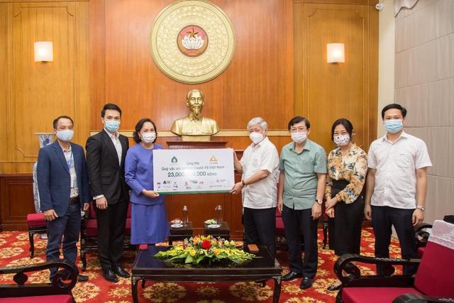 Tập đoàn TCC đóng góp 1 triệu USD mua vắc xin phòng chống Covid-19 tại Việt Nam - Ảnh 3.