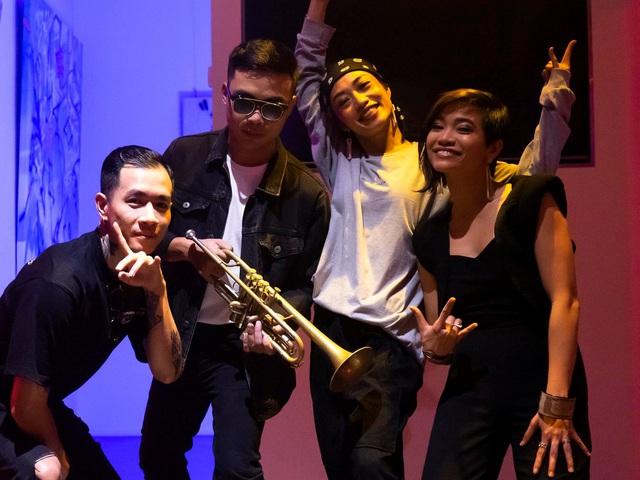 Cyril Kongo và các nghệ sĩ Việt Nam cùng phối hợp trong dự án mang tên Âm - Thanh Sắc - Màu - ảnh 2