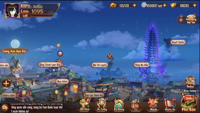 Tính năng Huyết Chiến theo hình thức thủ thành - sự kết hợp khá mới mẻ trong dòng game đấu tướng - Ảnh 2.
