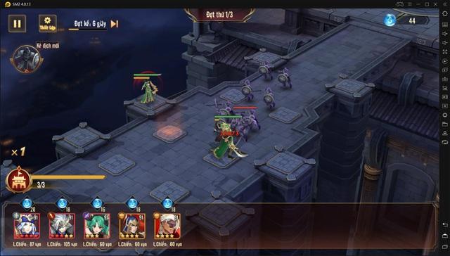 Tính năng Huyết Chiến theo hình thức thủ thành - sự kết hợp khá mới mẻ trong dòng game đấu tướng - Ảnh 3.
