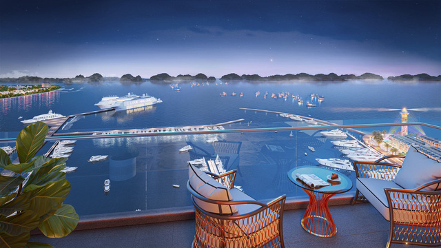 Tòa tháp mới tại Tổ hợp Sun Marina Hạ Long bên Vịnh Du thuyền chính thức ra mắt - Ảnh 1.