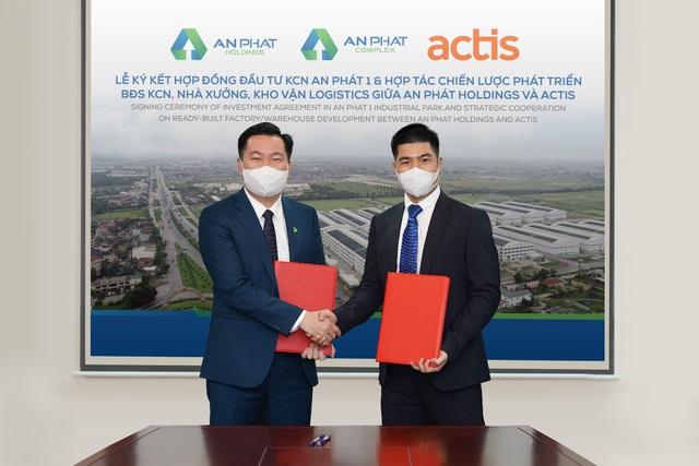 Quỹ đầu tư Anh quốc Actis rót hơn 20 triệu USD vào KCN An Phát 1 của Nhựa An Phát Xanh - Ảnh 1.