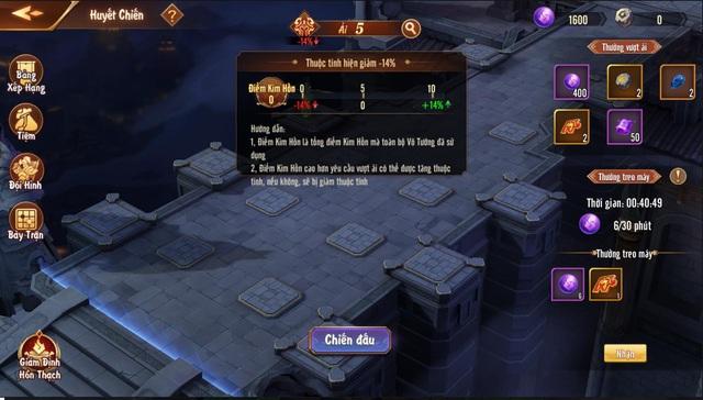 Tính năng Huyết Chiến theo hình thức thủ thành - sự kết hợp khá mới mẻ trong dòng game đấu tướng - Ảnh 5.