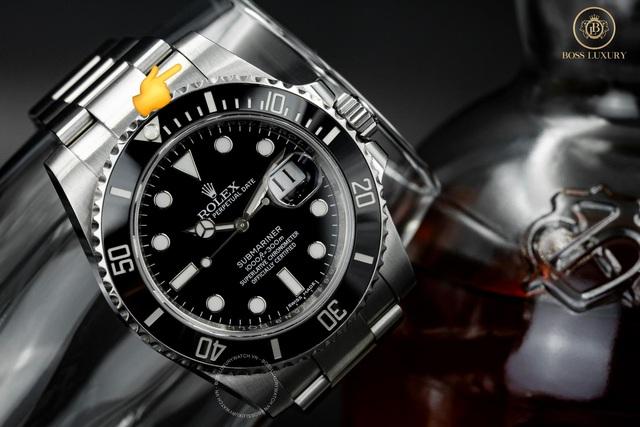 Cùng Boss Luxury phân biệt đồng hồ Rolex Submariner thật - giả - Ảnh 3.