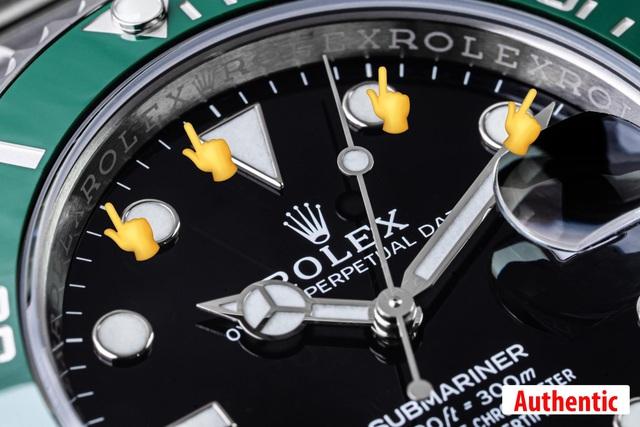 Cùng Boss Luxury phân biệt đồng hồ Rolex Submariner thật - giả - Ảnh 4.