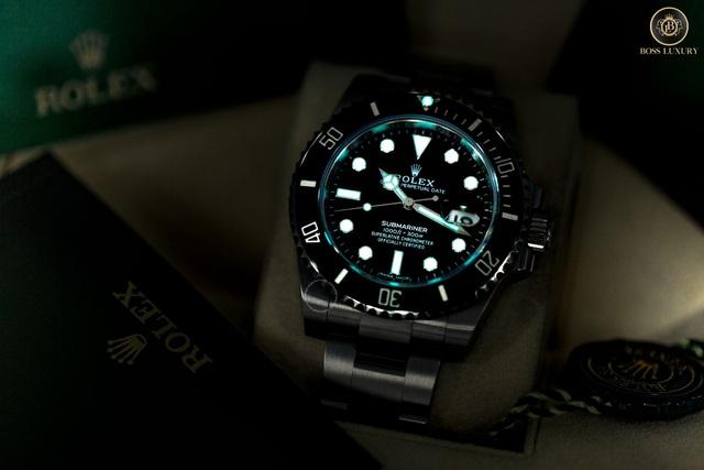 Cùng Boss Luxury phân biệt đồng hồ Rolex Submariner thật - giả - Ảnh 5.