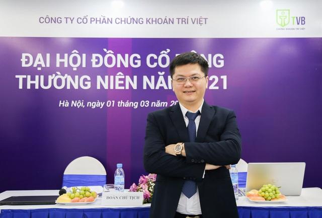 Chứng khoán Trí Việt (TVB): Tạm ứng cổ tức 9.6% tiền mặt - Ảnh 1.