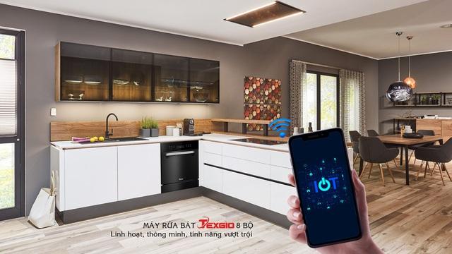 Những ưu điểm nổi bật của máy rửa chén bát thông minh wifi Texgio - Ảnh 4.