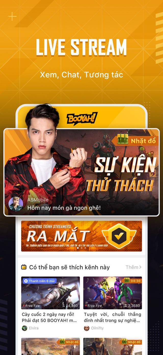 Booyah! live Nền tảng livestream dành cho game thủ mới ra mắt tại Việt Nam - Ảnh 1.