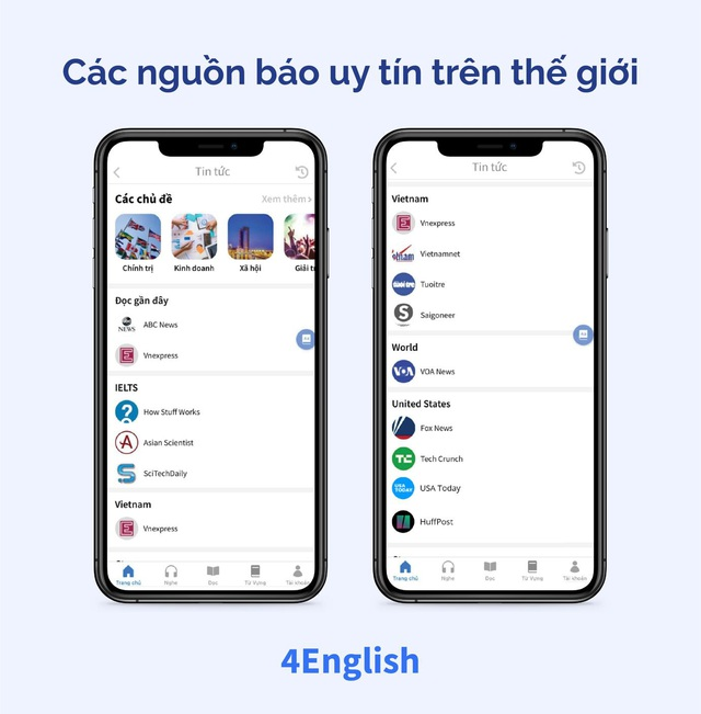 Ứng dụng Make in Vietnam giúp bạn vừa đọc báo vừa học tiếng Anh một công đôi việc - Ảnh 2.