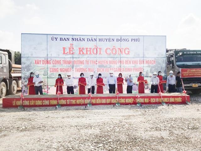 Lễ khởi công xây dựng tuyến đường Tạo Lực 4 - Huyện Đồng Phú