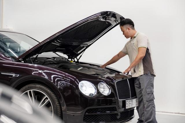 Showroom Bentley Hồ Chí Minh nhận đặt hàng Flying Spur V8 phiên bản 2022 chính hãng - Ảnh 3.