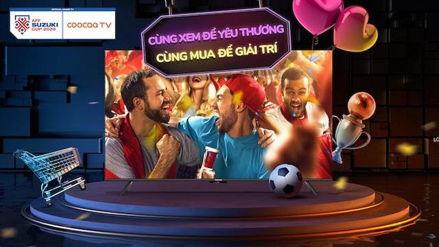 Đón đầu Euro 2020, coocaa chiêu đãi tín đồ bóng đá Việt Nam bằng dòng TV S6G Pro Max mới - Ảnh 2.