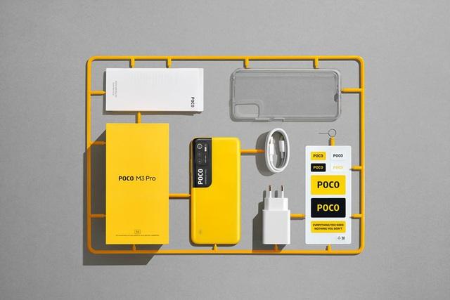 """Smartphone 5G """"không đối thủ"""" với cái tên POCO M3 Pro 5G : Thiết kế thời thượng - Hiệu năng mạnh mẽ - Ảnh 5."""
