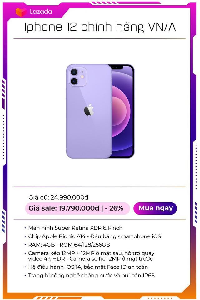 """Top 9 mẫu smartphone off 50% """"nóng hổi"""", duy nhất trong Lễ hội mua sắm lớn nhất hè của Lazada - Ảnh 1."""