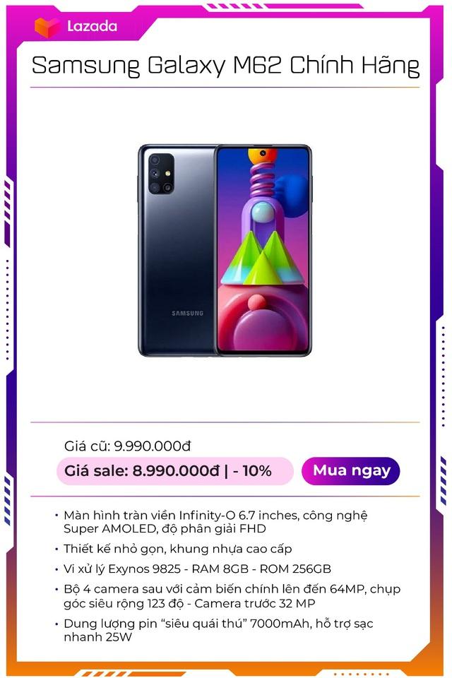 """Top 9 mẫu smartphone off 50% """"nóng hổi"""", duy nhất trong Lễ hội mua sắm lớn nhất hè của Lazada - Ảnh 2."""